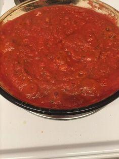 Tomato Pasta Sauce, Pasta Sauce Recipes, Tomato Sauce Recipe, Recipe Pasta, Tomato Soup, Nightshade Free Recipes, Vegan Recipes, Cooking Recipes, Drink Recipes