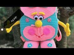 #طريقة #عمل #شنطة #كروشيه #للاطفال 😍😍الجزء الاول Crochet bag for children - YouTube Crochet Motif, Crochet Shawl, Diy Crochet, Crochet Designs, Crochet Baby, Crochet Patterns, Easy Crochet Socks, Crochet Beach Bags, Mochila Crochet