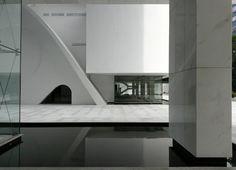 Cultural Center : FGV : Fundação Getúlio Vargas, Rio de Janeiro   Oscar Niemeyer
