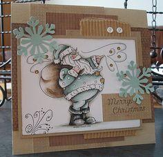 Cardmaking inspiration; cards, craft, papercraft; #craft #card #Christmas