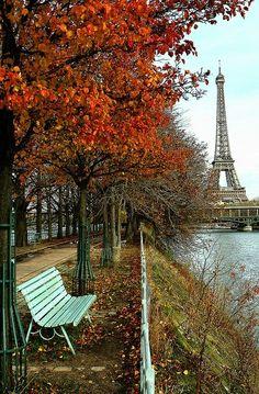 Outono, a mais linda das estações, no lugar mais maravilhoso do mundo: em Paris.