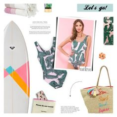 """""""You're Only One Swim Away From Good Mood - Yeah Bunny"""" by paradiselemonade ❤ liked on Polyvore featuring Doublju, Caroline Constas, Rebecca Minkoff, IGH, Victoria's Secret, Yeah Bunny, tumblr and YeahBunny"""
