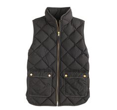 J Crew excursion quilted down vest puffer color: BLACK size medium  https://www.jcrew.com/womens_category/outerwear/puffer/PRDOVR~B0109/B0109.jsp
