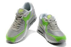 aec24beb97 Nike Air Max 90 Premium Tape - Women s - Linen Mine Grey Cargo Khaki Flash  Lime