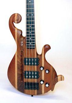 custom bass guitar - Google Search