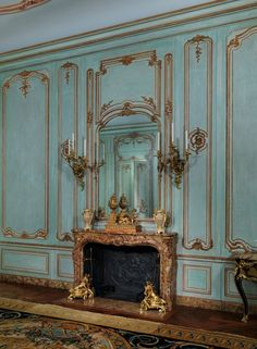 french wall-paneling