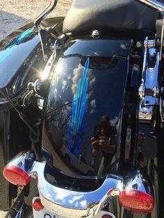 #pinstriping #hotrod #ratrod #oldschool #harley #motorcycle