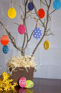 Salt Dough Easter Eggs: Easy DIY For Long-Lasting Ornaments