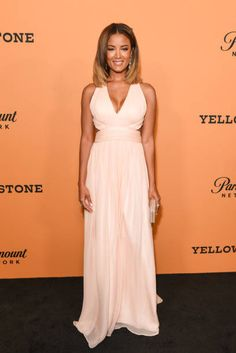 Heather Hemmens attends the premiere of Paramount Pictures' 'Yellowstone' at Paramount Studios on June 11 2018 in Hollywood California