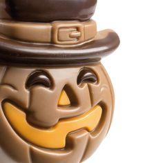 Idealnie straszny, Idealnie pyszny! Perfekcyjnie wykonany, czekoladowy lizak na #Halloween! #chocolate #chocolissimo