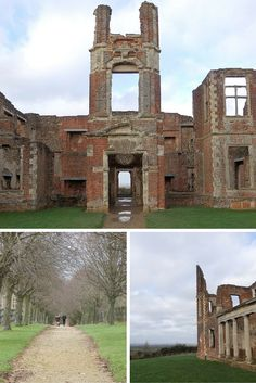 England Travel Inspiration - Exploring Houghton House in Bedfordshire, an…