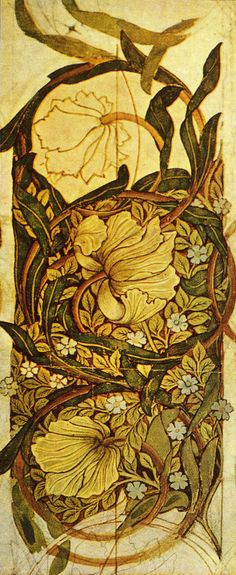 'Pimpernel' Wallpaper by William Morris 1876