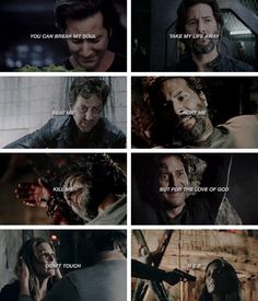 Don't touch her!! #kabby #marcuskane #abbygriffin