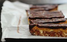 raw vegan snickers bars