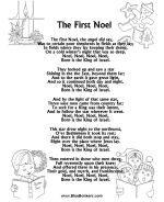 Lots of Christmas Carol Lyrics Sheets, Free Printable Christmas Song Sheets | BlueBonkers