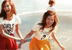 SNSD - YoonSun : 2010 Japan Photoshoot