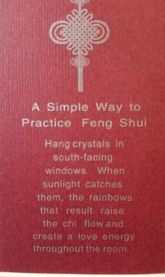 Instantly change your home's energy with this simple Feng Shui tip — Keep It Simple, Stupid - - Feng Shui House, Feng Shui Bedroom, Feng Shui Guide, Rainbow Dance, Fen Shui, How To Feng Shui Your Home, Feng Shui Crystals, Feng Shui Energy, Hanging Crystals