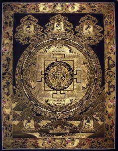 The Sealed Kingdom Tibetan Mandala, Tibetan Art, Tibetan Buddhism, Mandala Art, Mandala Painting, Magic Squares, Chakra Art, Spiritus, Buddha Art