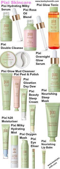 Pixi skincare items