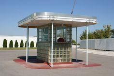 Ticket Booth, 66 Drive-in Theatre, Carthage, Missouri by spixpix, via Flickr