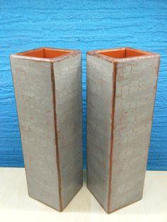 Χειροποίητα, ξύλινα βάζα 7x7x25cm Canning, Home Canning, Conservation