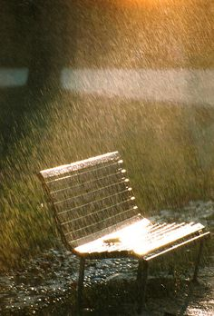 """AMAZING PICTURES THAT GIVES US A MILLION THOUGHTS. """"EMPTY BENCH IN A STORMY DAY BUT ABOVE ALL THERE IS SUNLIGHT AFTER STORM."""" LOVE IT."""