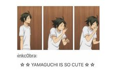 Kageyama, Haikyuu, Yamaguchi Tadashi, Otp, Videogames, Polaroid Film, Culture, Manga, Meat