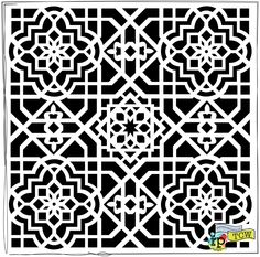 moroccan stencil download - Поиск в Google