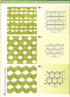 Gallery.ru / Фото #27 - Pontos de croche 205 идей - accessories