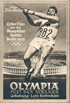 Documentary Films. Title: Olympia. Year: 1938. Duration: 226 min. Country : Germany. Direction: Leni Riefenstahl