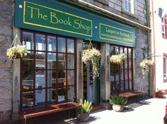 Wigtown bookshop., Wigtown, Dumfris & Galloway, Scotland  - the biggest secondhand bookshop in Scotland.