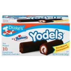 I'm learning all about Drakes Yodels Creme Filled Chocolate Cakes Frosted at @Influenster!