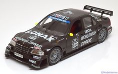 Mercedes AMG C-Klasse, ITC 1996, No.11, v.Ommen. Exclusiv Cars, 1/18, No.960053. 30€