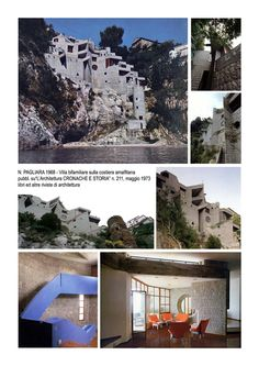 Villa bifamiliare a Cetara « Prof. Architetto Nicola Pagliara