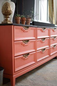coral dresser