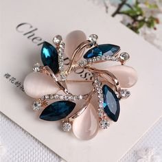 Women Fashion Crystal  Bauhinia Shape Dress Decorative Pin Brooch //Price: $2.99 & FREE Shipping //     #jewellery