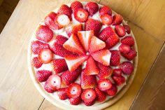 Vegan MoFo Day 1 – Strawberry Cake   Erdbeertorte