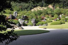 By Yuichi Azuma via Google + Adachi Museum, Japanese Gardens, Golf Courses, Google, Japan Garden