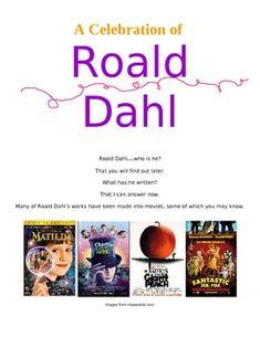 Roald Dahl Author Study (w/ links) - I LOVE using Roald Dahl in the classroom