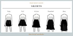 In this section, we explore how to dress the pear body shape to achieve a balanced silhouette. Make sure to check all body shapes that apply to you. Pear Shaped Dresses, Pear Shaped Outfits, Body Shape Guide, Pear Shape Fashion, Triangle Body Shape, Pear Shaped Women, Pear Body, Build A Wardrobe, Mode Plus