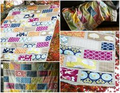 Colorbrick quilt from Stitched in Color