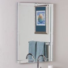 Photo Album For Website Decor Wonderland Kinana In X In Rectangular Frameless Bathroom Mirror Ssm