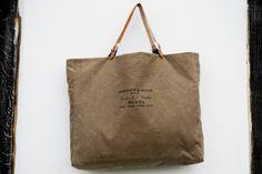 Oilskin Bag Kit von Stoffsalon auf DaWanda.com