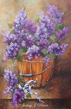 Paint lilac wall | Lilac Painting ~ Jonny Petros