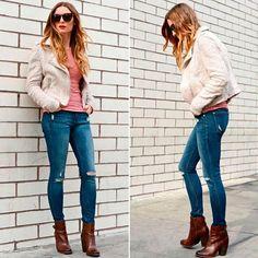 Андреа в своем блоге пишет о том, что с джинсами DL1961 не приходится выбирать между практичностью и шиком. И хотя она поклонница элегантных платьев и юбок, зачастую джинсы – это единственное уместный выбор.  Мы в JiST считаем, что джинсы тоже могут быть элегантные и изысканные. А также деловые, повседневные, вечерние, винтажные, рокерские, байкерские, и многие другие.. )) С радостью вам поможем подобрать в соответствии с вашей фигурой, вкусом и мероприятием.  Ваш JiST