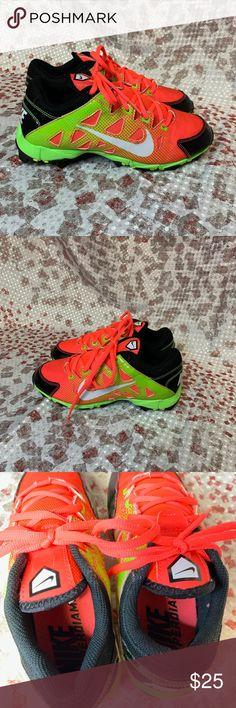 87f651a4e Nike Hyper Diamond Baseball Softball Youth Cleats Nike Neon Green Pink  Hyper Diamond Baseball Softball