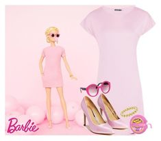 """""""Barbie"""" by cartoongirl ❤ liked on Polyvore featuring Nasty Gal, Italia Independent, Lagos and eahmubu"""