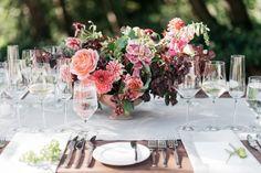 Venue, Meadowood; Flowers, Studio Mondine; Planner, Joy Thigpen; Photo: Kate Holstein - California Wedding http://caratsandcake.com/BrittanyandColter
