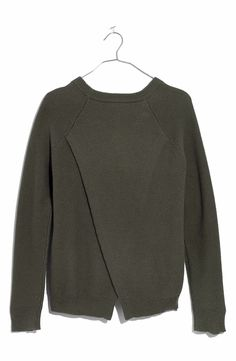 Main Image - Madewell Cross Back Knit Pullover