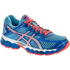 GEL-Cumulus 15: ASICS Womens Running Shoes Turquoise/Lightning/Electric Melon T3C5N.-4093